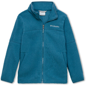 Columbia Rugged Ridge Sherpa Giacca con zip intera Ragazzo, blue heron
